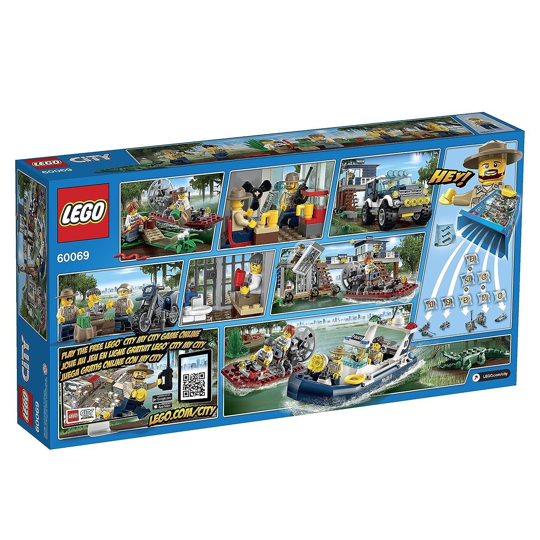 Amazoncom Lego City Police Swamp Police Station Toys Games