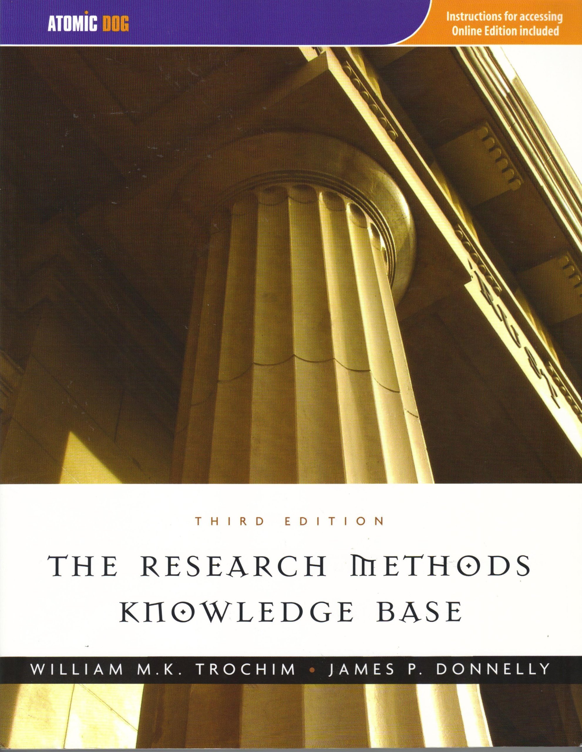Download The Research Methods Knowledge Base, 3rd edition, [Student Edition] pdf
