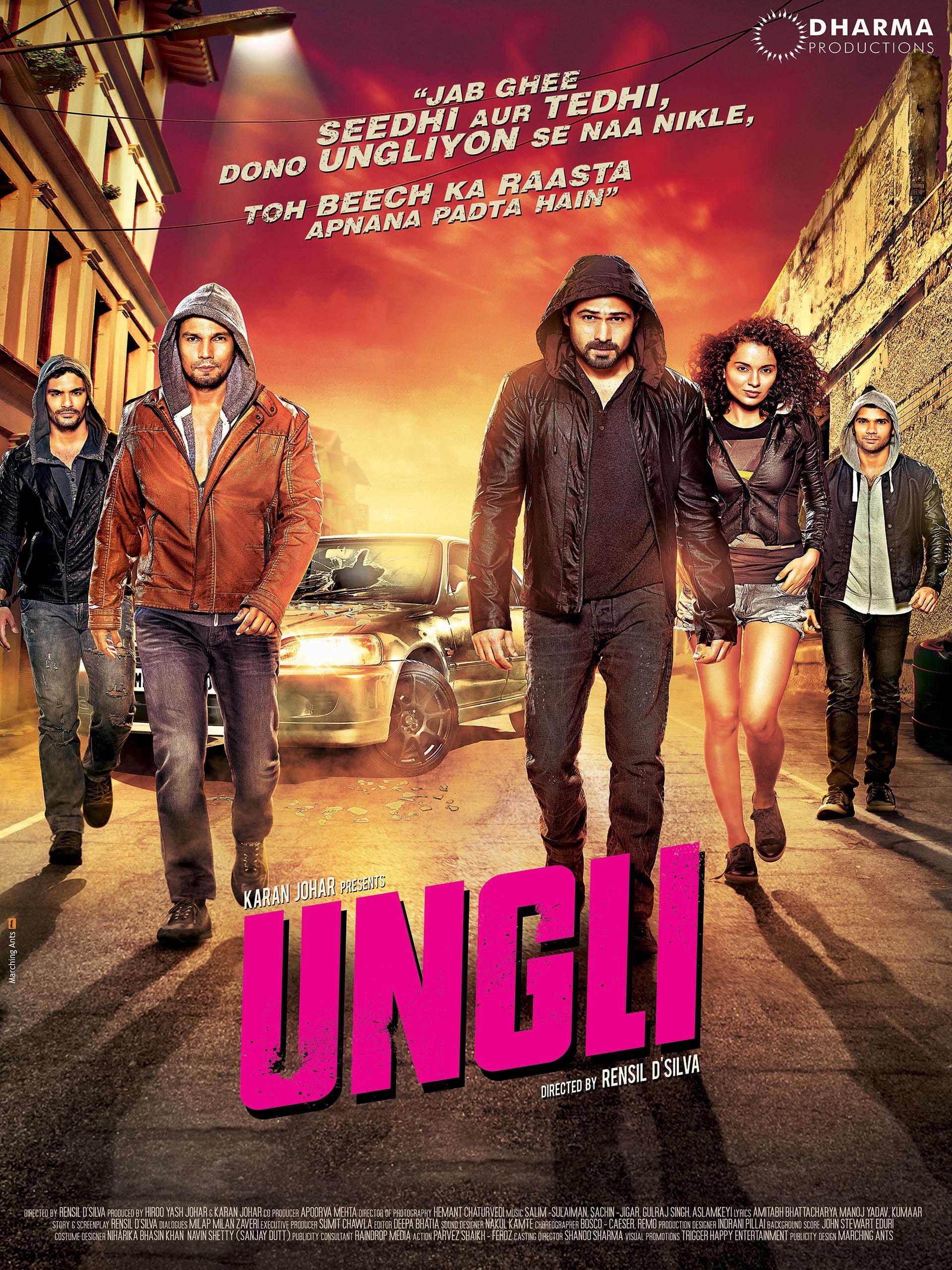 Ungli (2014) Hindi 1080p WebHD AVC DD 5.1 ESuBS By-DusIcTv | 8.80 GB |