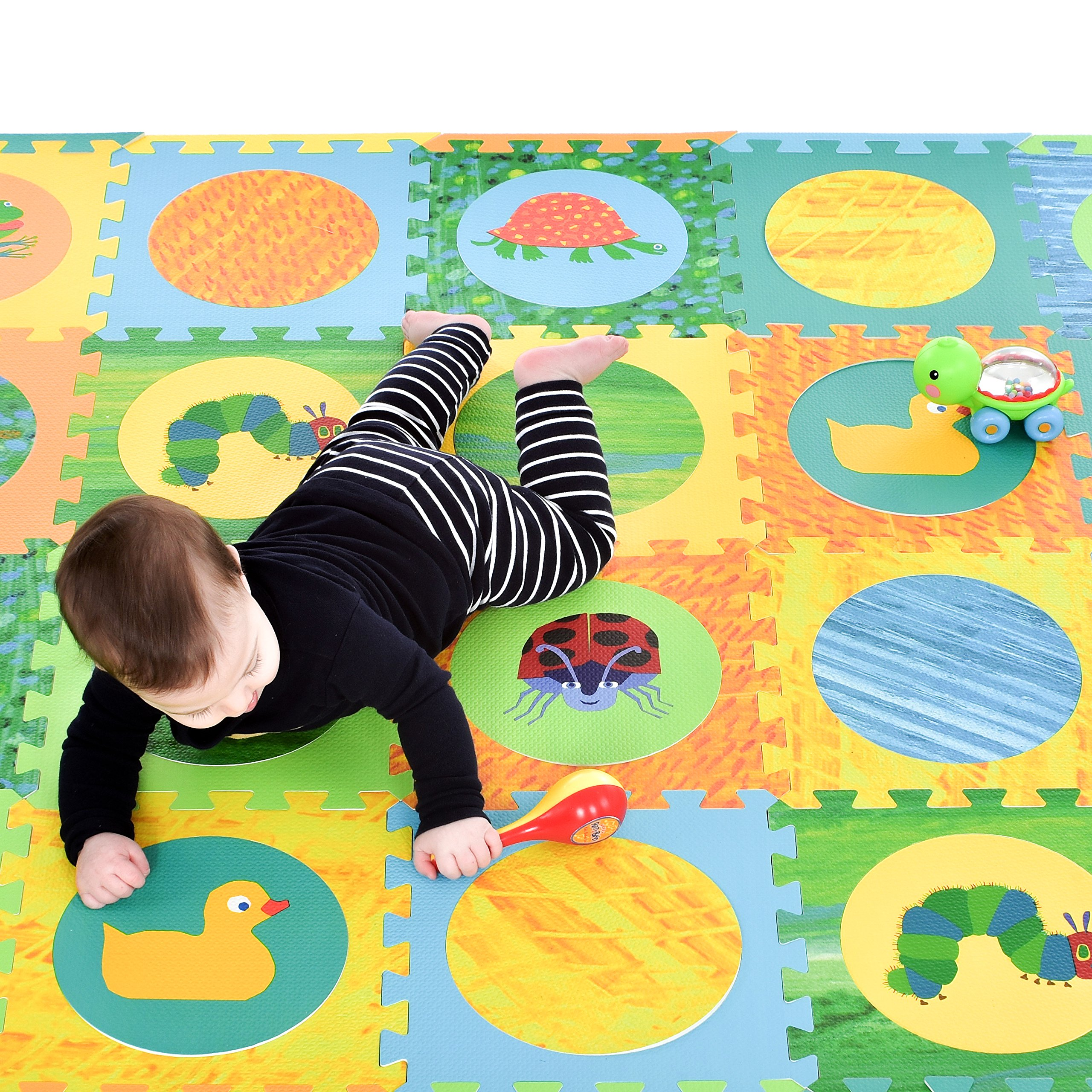 itm babies eva mat floor hungry baby play boy infant for foam toxic caterpillar girl puzzle mats tiles non