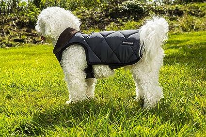 Pawberry Classic - Abrigo para Perro con arnés Integrado, 31 cm ...