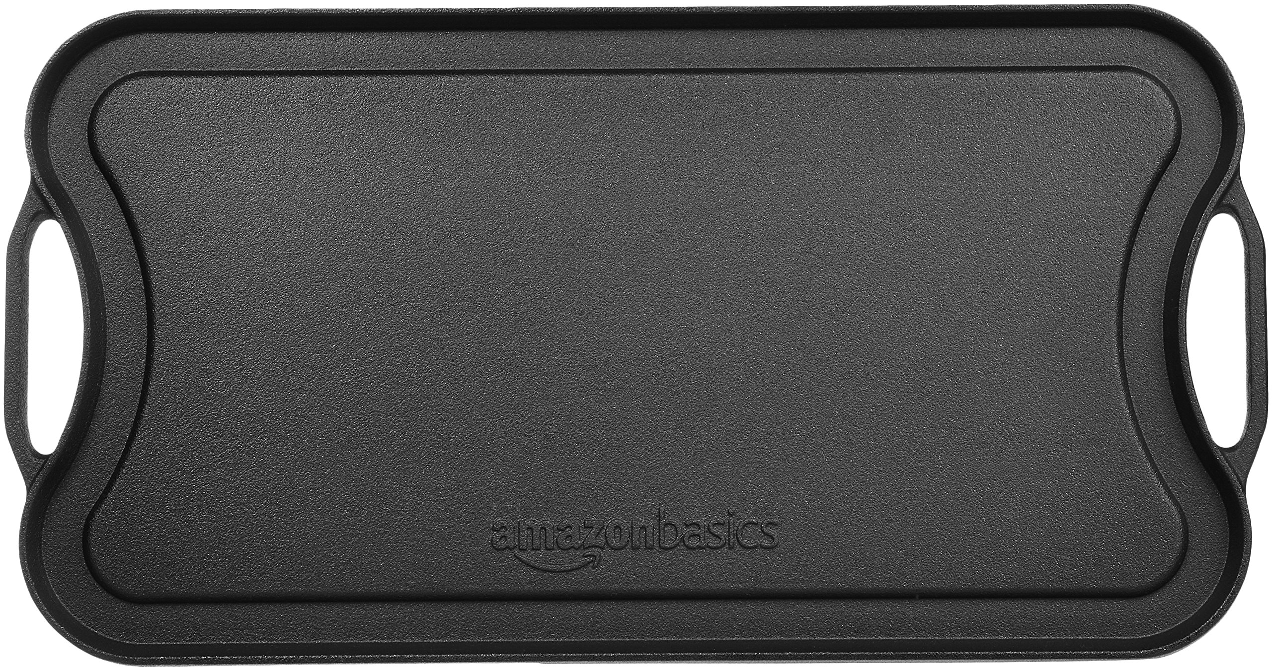 AmazonBasics Pre-Seasoned Cast Iron Reversible Grill/Griddle -(5204) by AmazonBasics (Image #6)