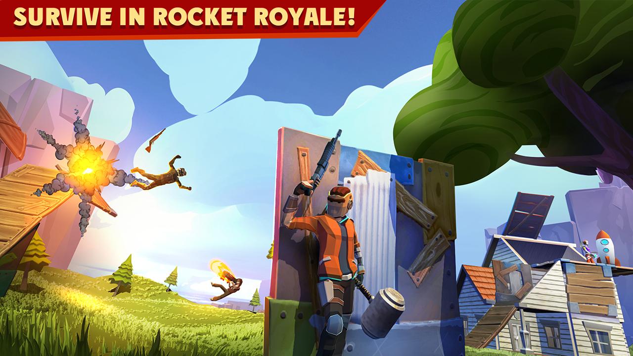 Rocket Royale: PvP Survival: Amazon.es: Appstore para Android