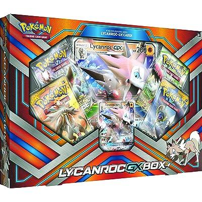 Pokemon TCG: 2020 Lycanroc Gx Box with 1 Foil Lycanroc Gx Card: Toys & Games