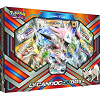 Pokemon TCG: Lycanroc-GX Box Card Game