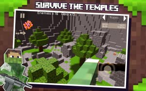 The Survival Shooter Block 3D Hunter Games II from Survival Block Games