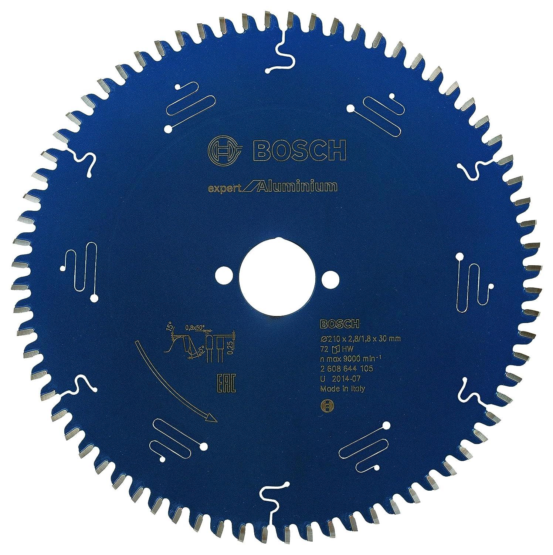 210 x 30 x 2,6 mm 2 608 644 109 Bosch Kreissägeblatt Expert for Aluminium 54