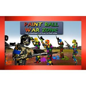 zona de guerra de paintball: el comando de juego de acción ...