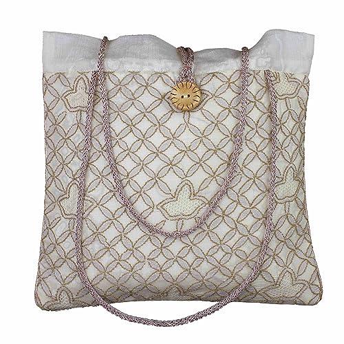 Las mujeres de tarde del monedero del bolso de seda de ...