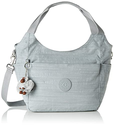 82cd6f54c08 Kipling Women's Nylon Shoulder Bag (Dazz Grey): Amazon.in: Shoes ...