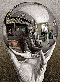 product image for Buffalo Games - M.C. Escher - Self Portrait - 1000 Piece Jigsaw Puzzle
