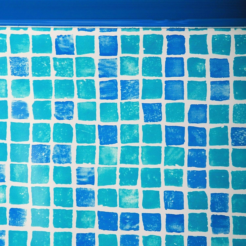 Gre FPR557 - Liner para Piscinas Redondas, Diámetro de 550 cm, Altura de 132 cm, Color Gresite: Amazon.es: Jardín