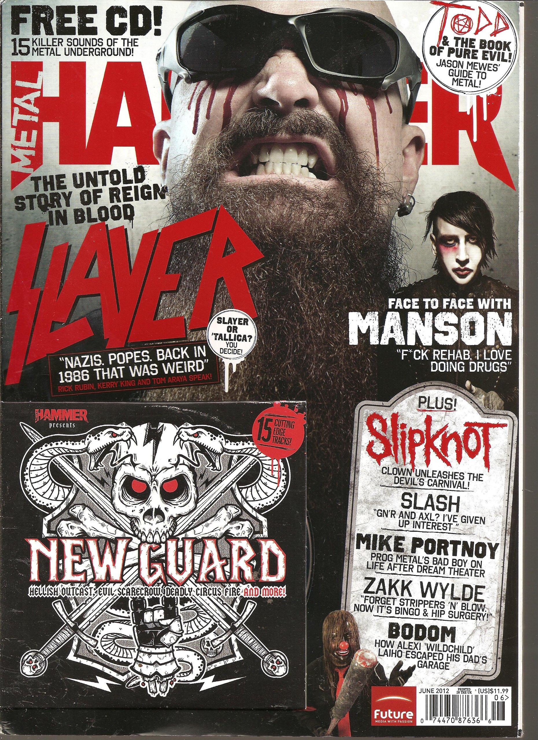 Read Online Metal Hammer Magazine (June 2012) pdf epub