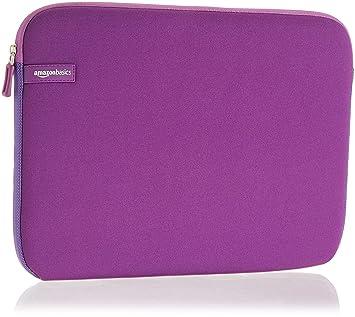 """AmazonBasics NC1506164G - Funda para ordenadores portátiles (13.3""""), color púrpura"""