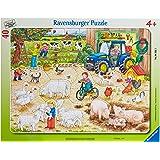 Ravensburger - 06 332 1 - Puzzle avec Cadre - A La Ferme - 40 pieces