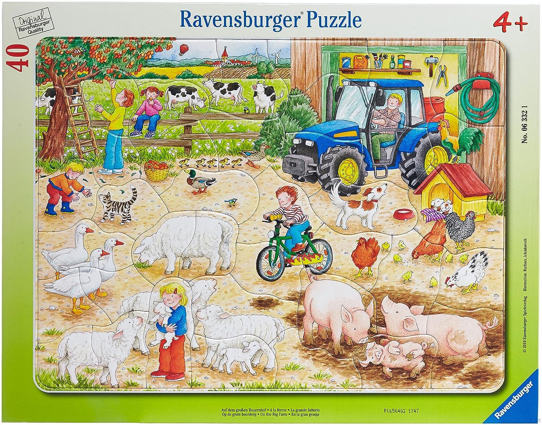 Ravensburger 06618 - Famiglie di animali, Puzzle incorniciato da 33 pezzi Günther Marks Ravensburger Italy AVDJ-16408 Spielgeschichten