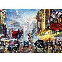 Thomas Kinkade - DC Comics - The Trinity Puzzle - 1000 Pieces