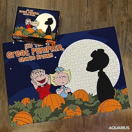 1000pc Snoopy Charlie Brown Peanuts Great Pumpkin Halloween Jigsaw Puzzle