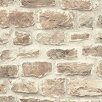 rasch Behang 860610 uit de collectie b.b home passion VI - vliesbehang in rustieke steen-look - 10,05 m x 53 cm (L x B)