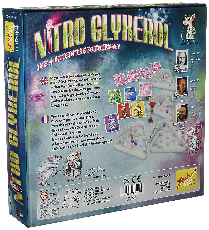 Zoch Verlag Nitro Glyxerol Board Game ZOCH05083