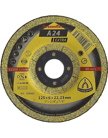 Lot de 25 Parweld 115/mm Disques de Hachage pour acier 115/x 6/x 22,2/mm 11,4/cm