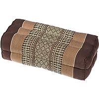 Handelsturm Kussen blok 35x15x10 met vulling van kapok. Perfect voor meditatie, yoga en ontspanning (aardetinten)