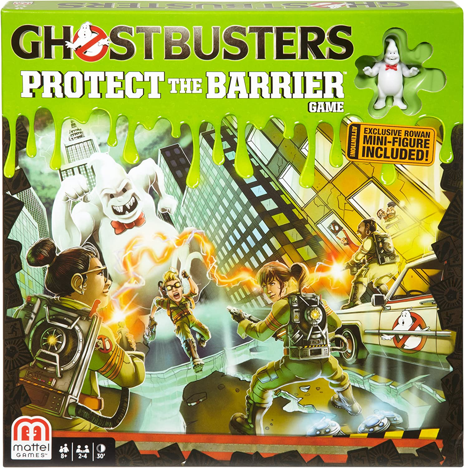 Ghostbusters Protect the Barrier Game by Mattel: Amazon.es: Juguetes y juegos