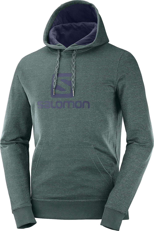 SALOMON Mens Logo Hoodie