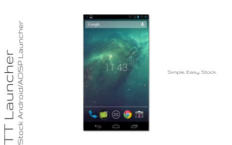 Amazon.com: Android AOSP Home Launcher -- TT Launcher: Appstore for Android