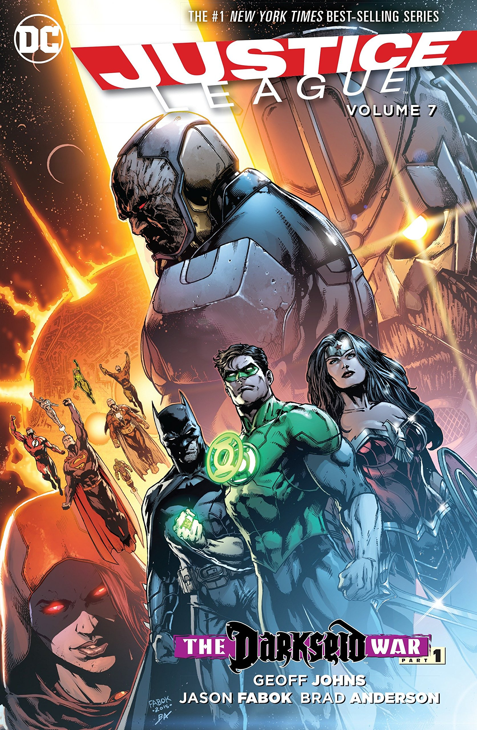 JUSTICE LEAGUE UNLIMITED Comic # 7 Darkseid SOLD OUT