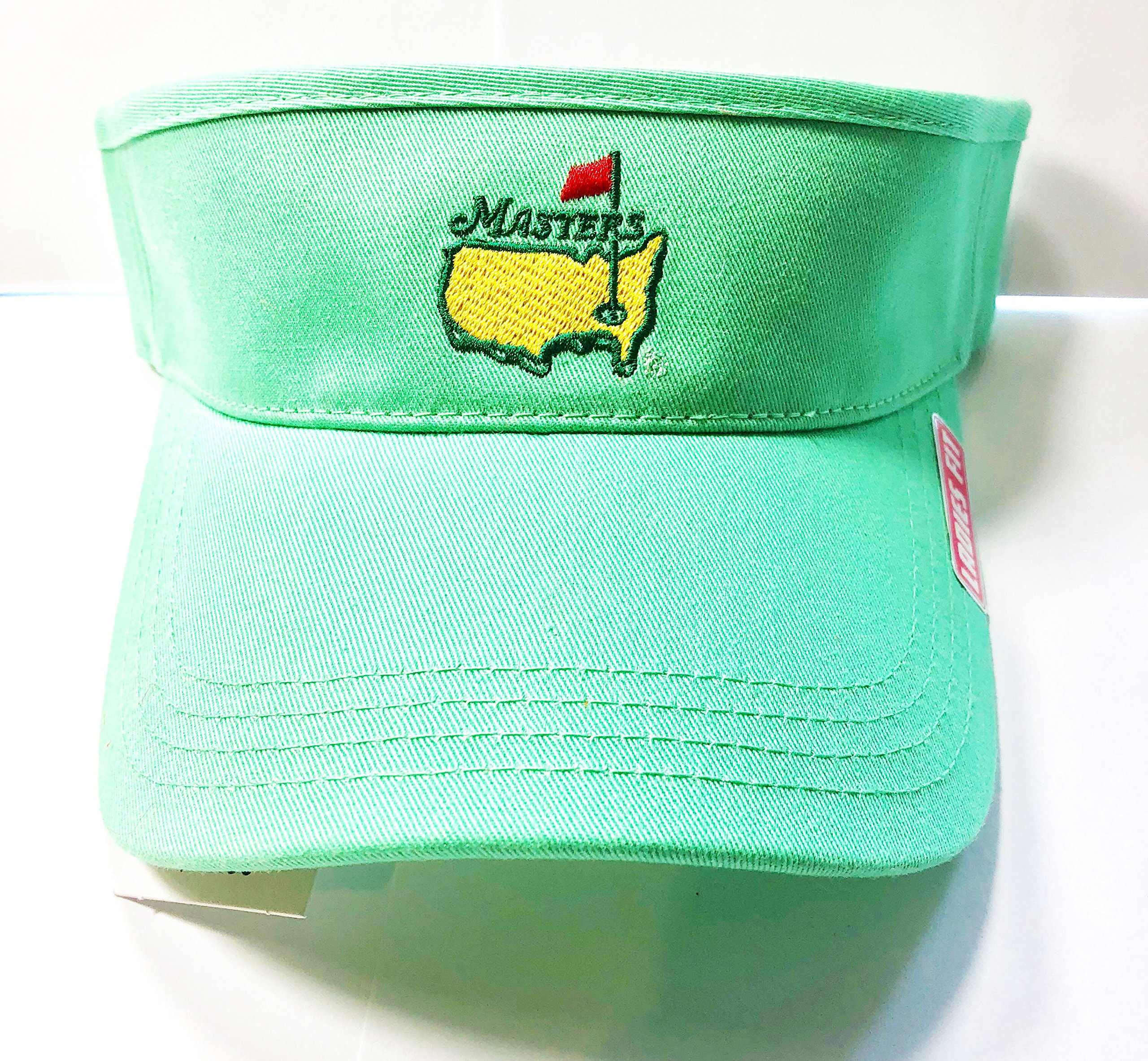 Masters Ladies Women's 2018 Golf Mint Light Green Visor Hat Adjustable Official Augusta National