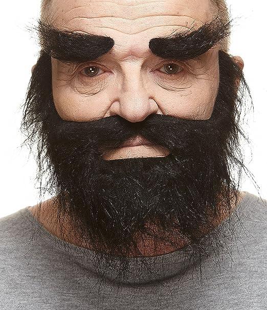 Amazon Mustaches Self Adhesive Novelty Realistic Fake