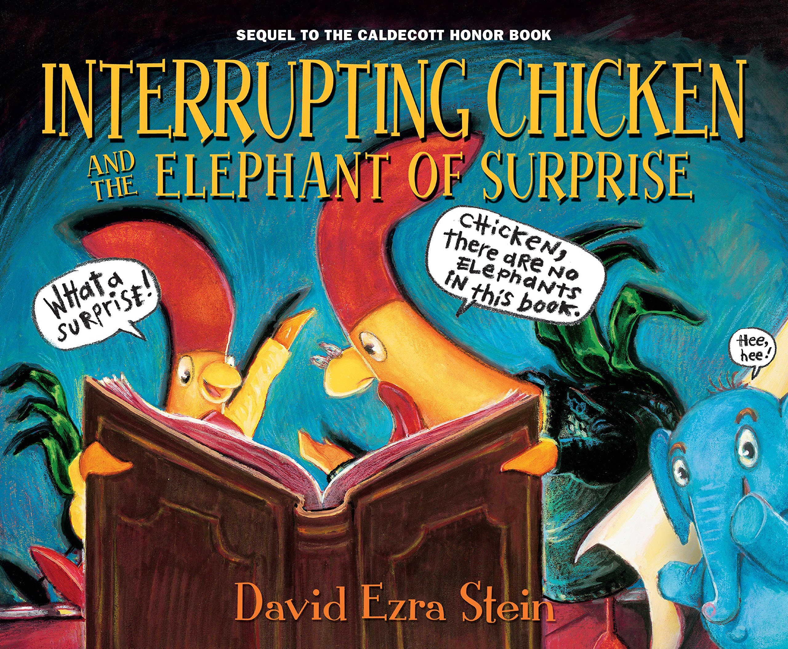 Interrupting Chicken: Elephant of Surprise