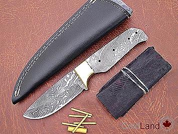 ColdLand SK103-4 - Juego de Cuchillos de Acero de Damasco ...