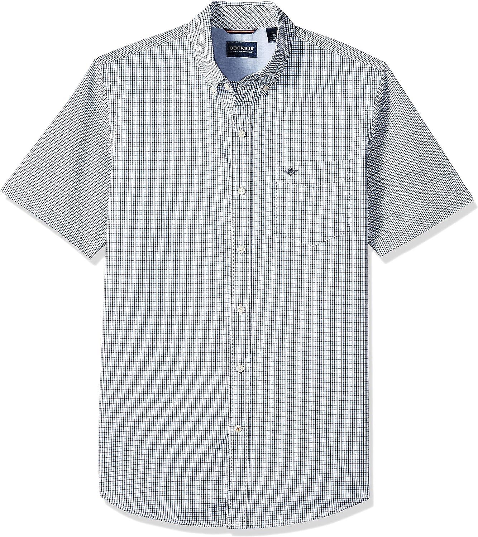 dockers Short Sleeve Performance Seersucker Shirt Sudadera para Hombre