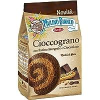 Mulino Bianco Biscotti Frollini Integrali Cioccograno con Farina Integrale e Cioccolato Fondente - 330 gr