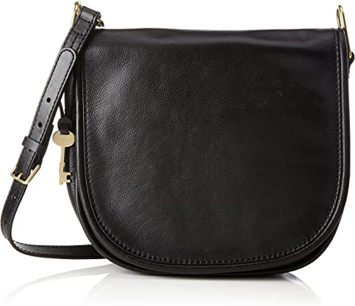 Fossil Rumi, Women's Cross Body Bag, Schwarz (Black), 7.5