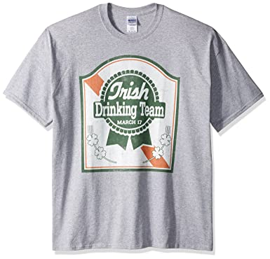 08cf79d42 Freeze Men's Big and Tall Irish Drinking Team March 17 St. Pats T-Shirt