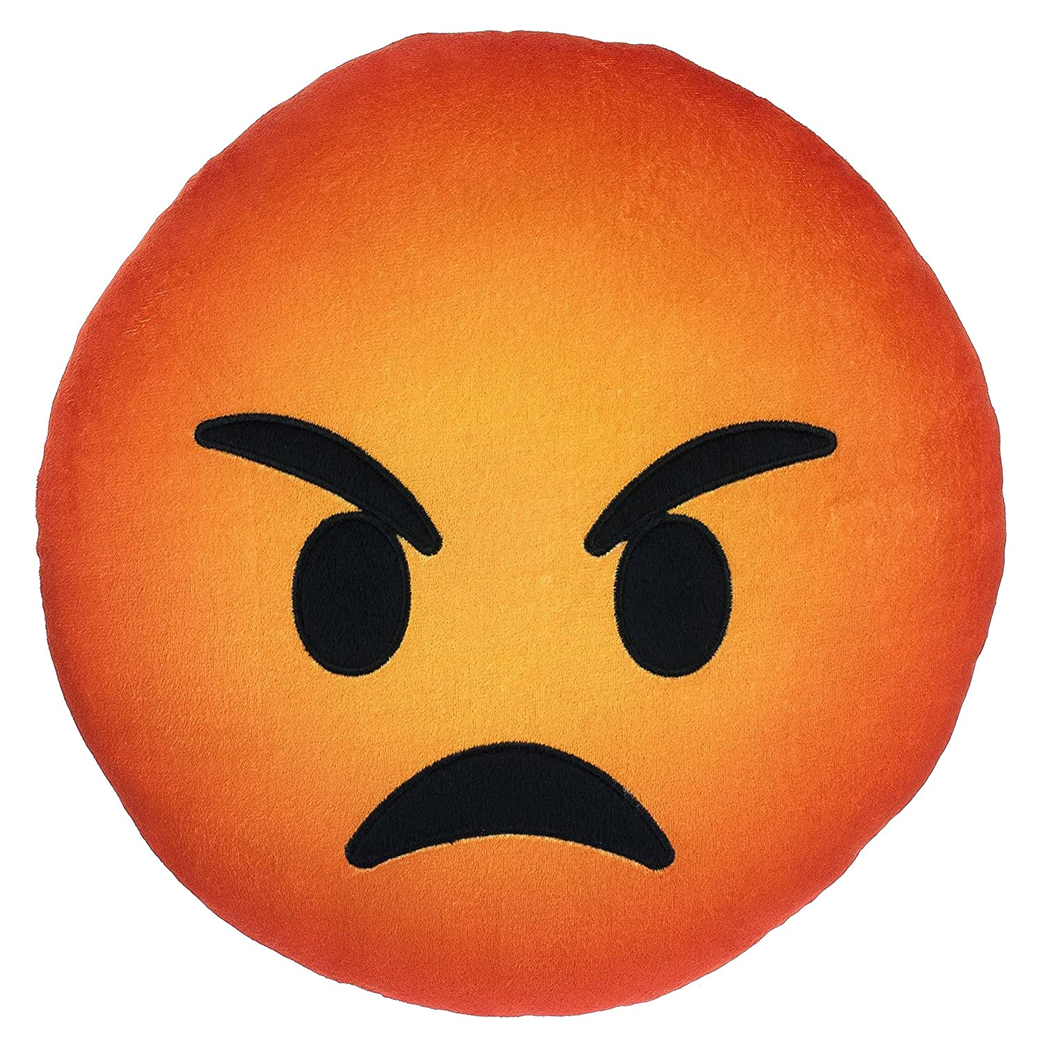Amazon Angry Emoji Pillow 9 Mad Guy Emoticon Expression