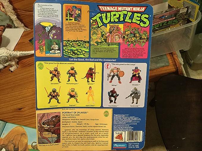 1988 Splinter - Tortugas Ninja: Amazon.es: Juguetes y juegos