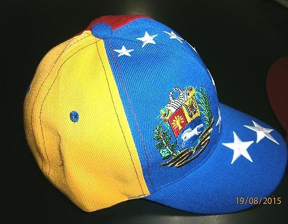 906fd15086536 Gorra con los colores de la bandera de Venezuela (oposición).  Amazon.es   Jardín