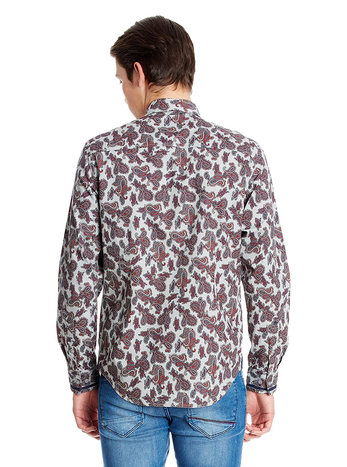 Merc of London Herren Smoking Hemd Hull, Shirt Paisley: Amazon.de:  Bekleidung