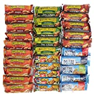 Healthy Granola Bar Variety Snack Pack Bulk Assortment (30 Count)
