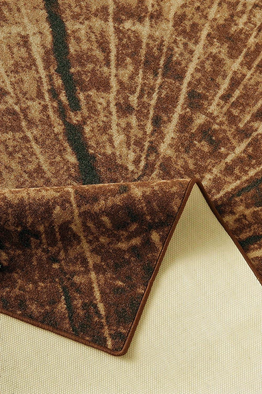 Design Teppich Teppich Teppich Holz Baumstamm 160 x 240 cm Baumscheibe HR-5 Holzmuster B01A9RSAJG Teppiche 5ab954