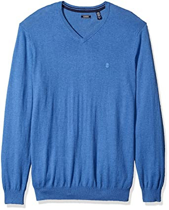Izod Mens Big and Tall Fine Gauge Solid 1//4 Zip Sweater Pullover Sweater