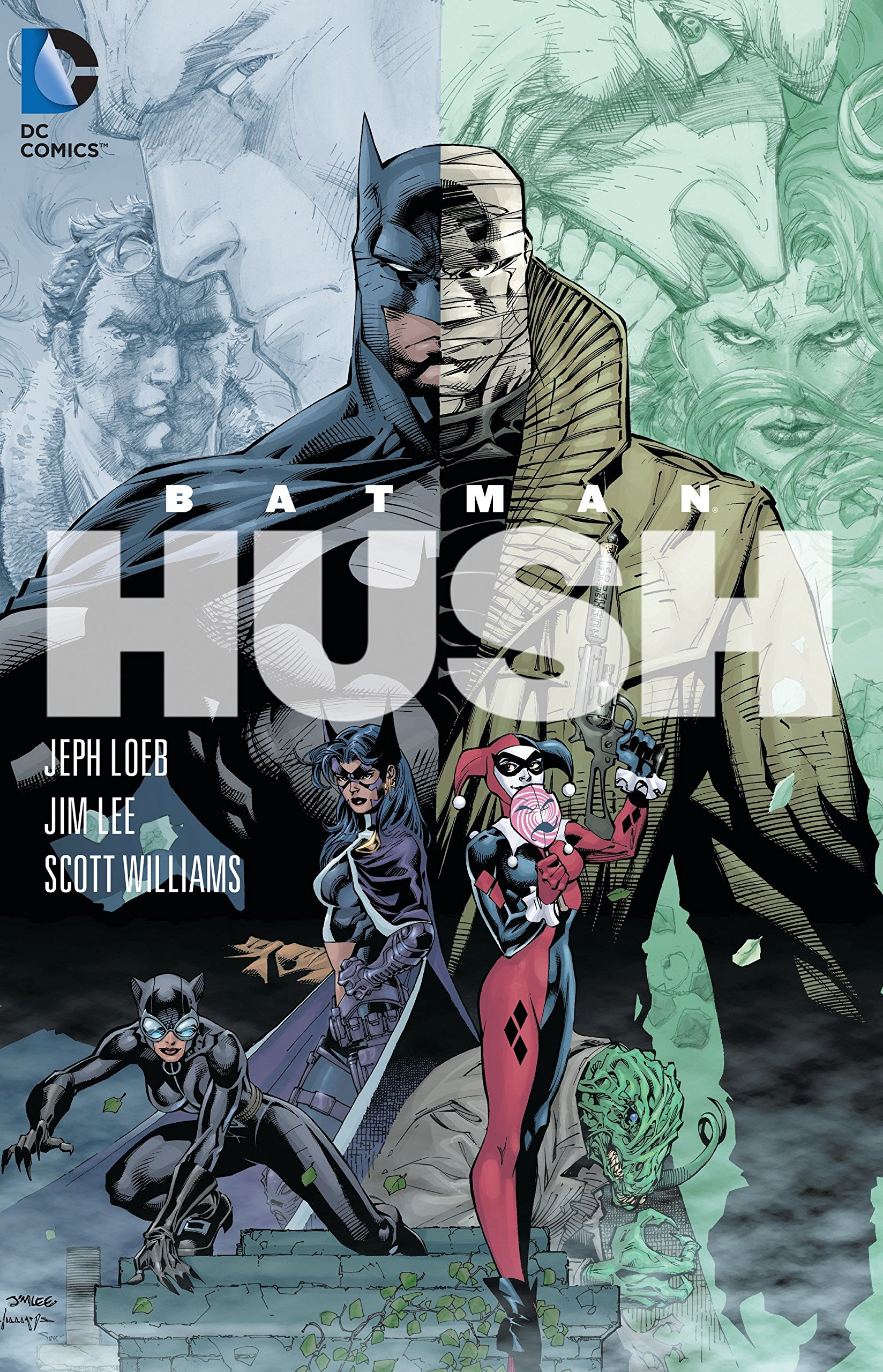 Amazon Com Batman Hush 9781401223175 Loeb Jeph Lee Jim Books