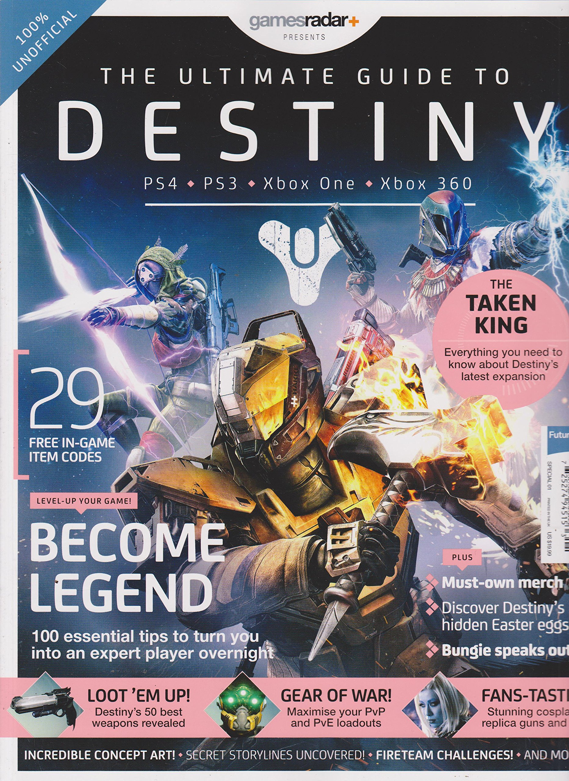 49afaa47dff Games Radar Presents The Ultimate Guide to Destiny Magazine Single Issue  Magazine – 2015