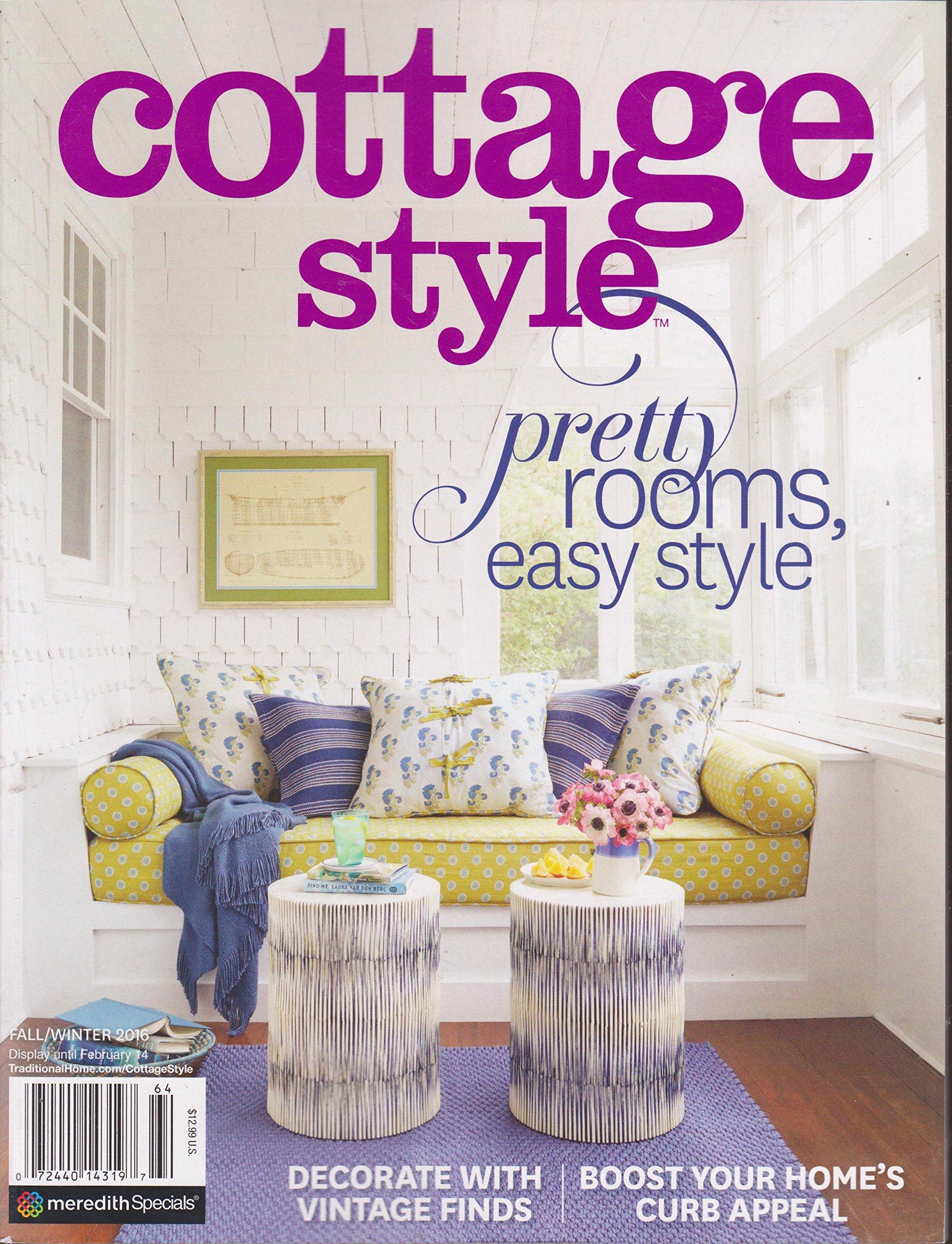 Admirable Cottage Style Magazine Fall Winter 2016 Various Amazon Com Download Free Architecture Designs Momecebritishbridgeorg