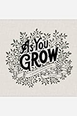 As You Grow: A Modern Memory Book for Baby Hardcover