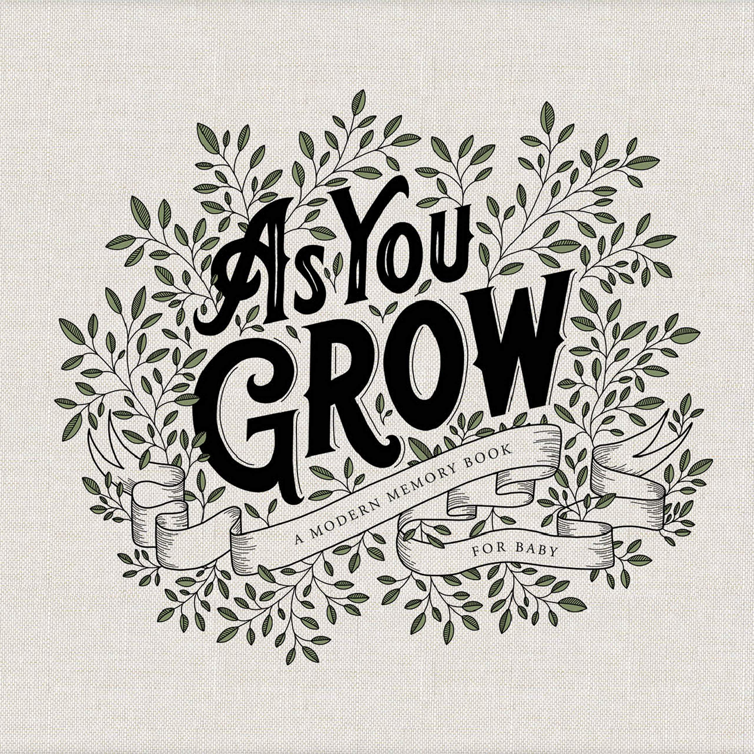 As You Grow: A Modern Memory Book for Baby by Blue Star Press
